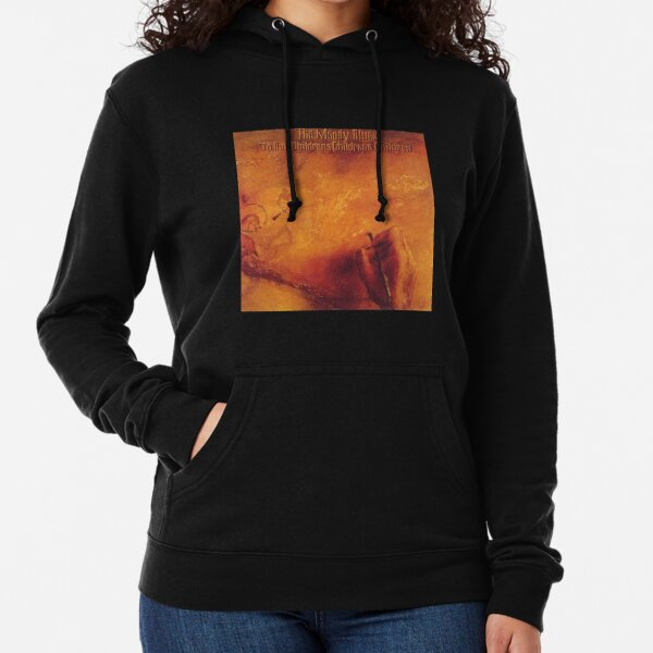 The Moody Blues in Search of The Lost Chord Mens Leisure Hooded Sweatshirt Black
