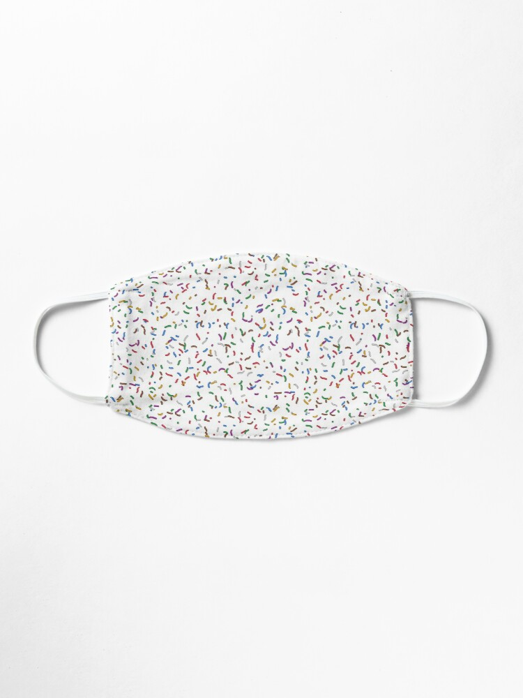 Alternate view of Donut Sugar Sprinkles Pattern Mask