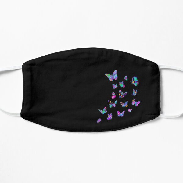 Butterflies, Butterfly, Cute Monarchs, Beautiful Draws, Colorful Insects, Black background Mask