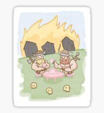Viking Tea PARTY Sticker