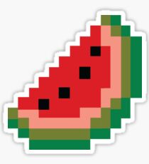 Pixel Watermelon Sticker