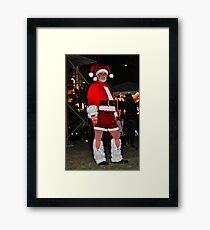 Sexi Santa Framed Print