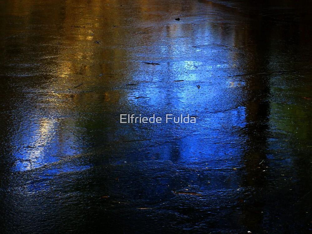Pond Reflections ! by Elfriede Fulda