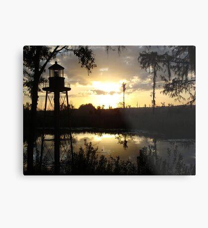 Econfina Creek Sunset, December 1, 2012 Metal Print