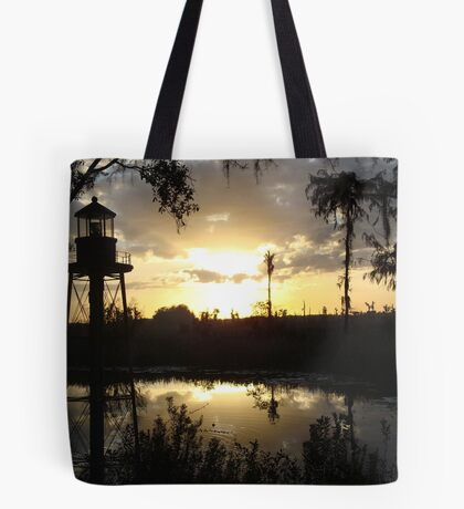 Econfina Creek Sunset, December 1, 2012 Tote Bag