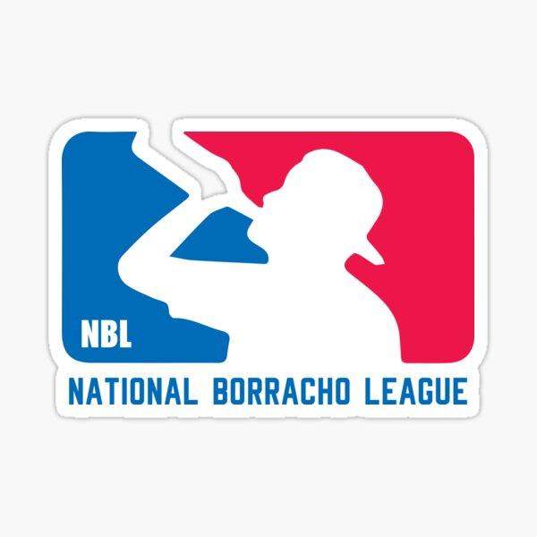 liga nacional de borracho Pegatina