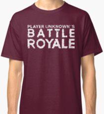 H1Z1 - Battle Royal White Classic T-Shirt