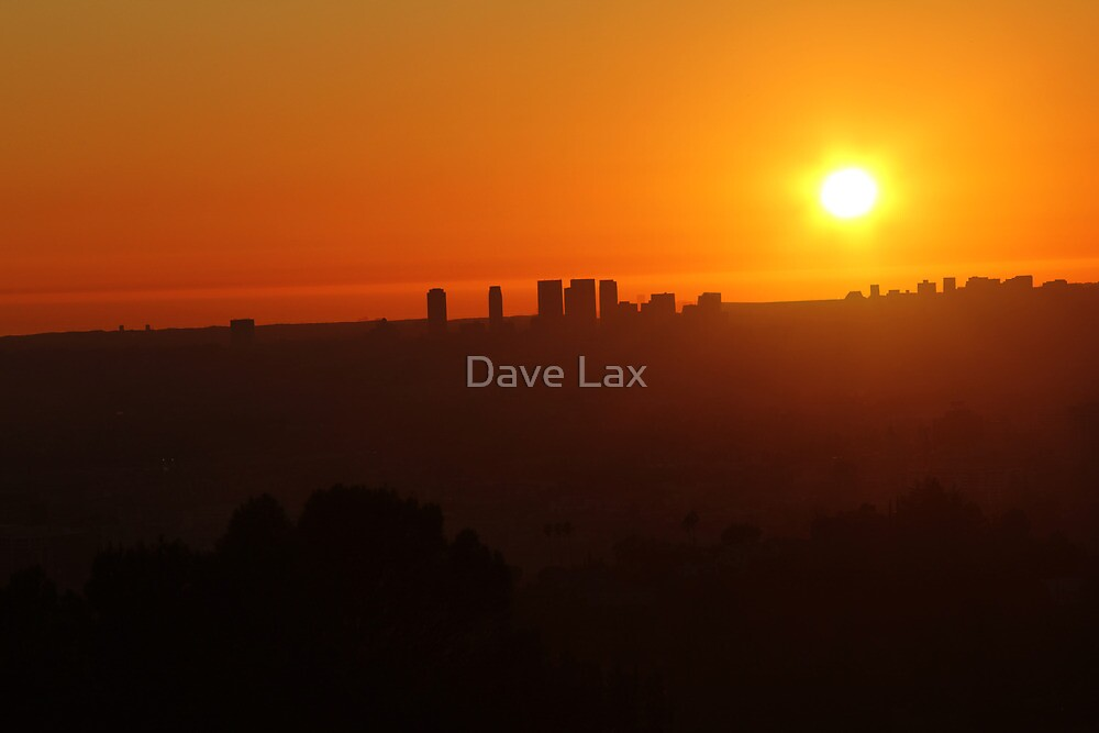 LA Sunset by Dave Lax