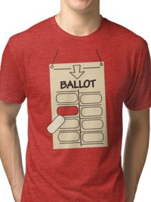 How I met your mother hanging chad Tri-blend T-Shirt