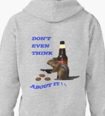 Don't even think about it Pullover Hoodie