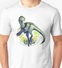Agender Afrovenator (with text)  T-Shirt