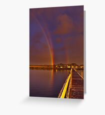 """""""A Promise At The Shoreline"""" Greeting Card"""