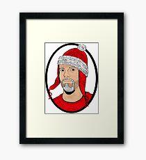 Santa Cobb Framed Print