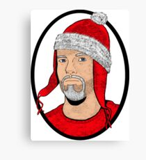 Santa Cobb Canvas Print
