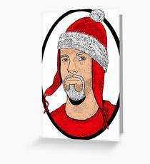 Santa Cobb Greeting Card
