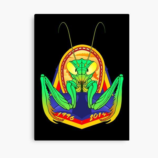FINAL PRAYERS Mantis Roller Coaster Cedar Point Theme Park Tribute Canvas Print