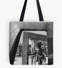 Passageway Through Tote Bag