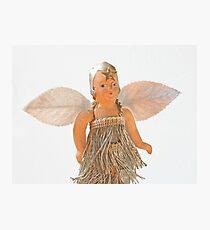 Flapper Christmas Ornament Photographic Print