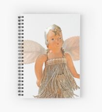 Flapper Christmas Ornament Spiral Notebook