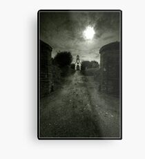 Manx Church Metal Print