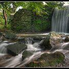 Glen Wyllin Waterfall by Jonny Andrews