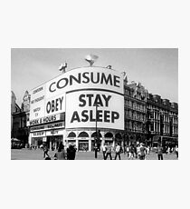 They Live... In London. Photographic Print