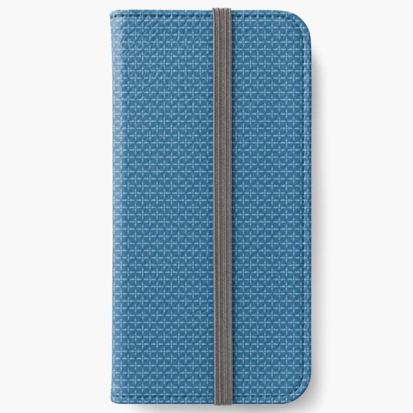 Celebrate - Pinwheels | Americana (blue) iPhone Wallet