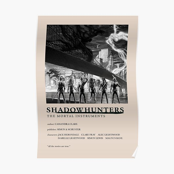 The Mortal Instruments - Shadowhunters - Couverture alternative Poster