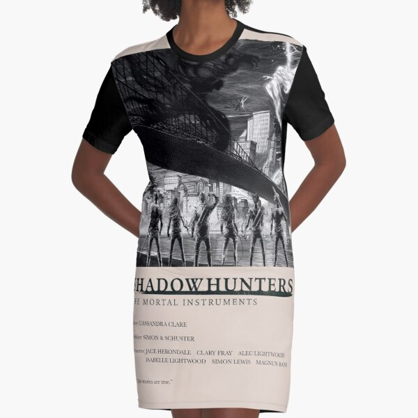 The Mortal Instruments - Shadowhunters alternate cover Graphic T-Shirt Dress