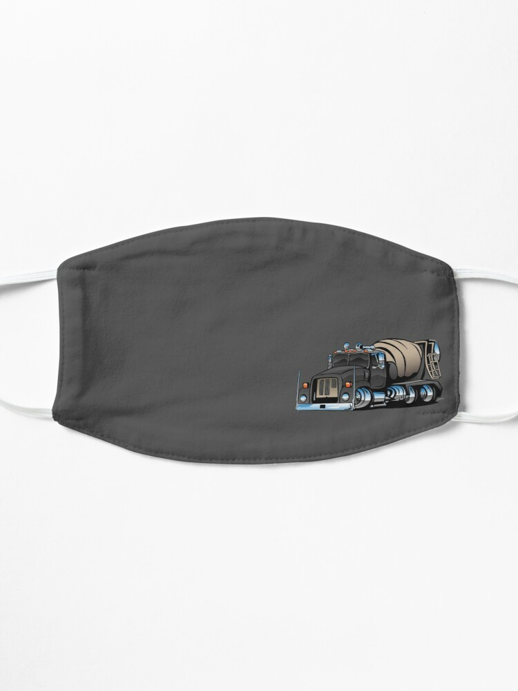 Alternate view of Cement Mixer Truck Mask