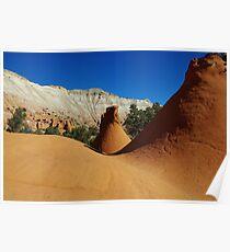 Particular rock formations, Utah Poster