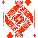 Jormungandr King of Diamonds by Yanko Tsvetkov