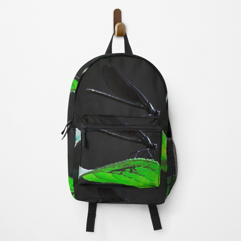 Dragonfly of the enchanted forest By Yannis Lobaina  Backpack