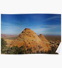Rocks near Page, Arizona Poster