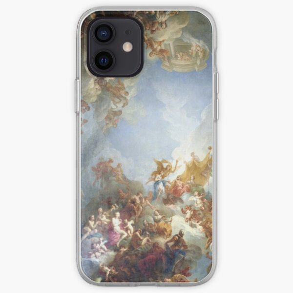 Ceiling at Versaille Renaissance Painting  iPhone Soft Case