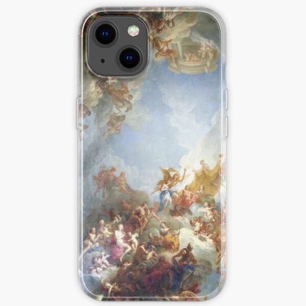 Ceiling at Versaille Renaissance Painting  iPhone Soft Case