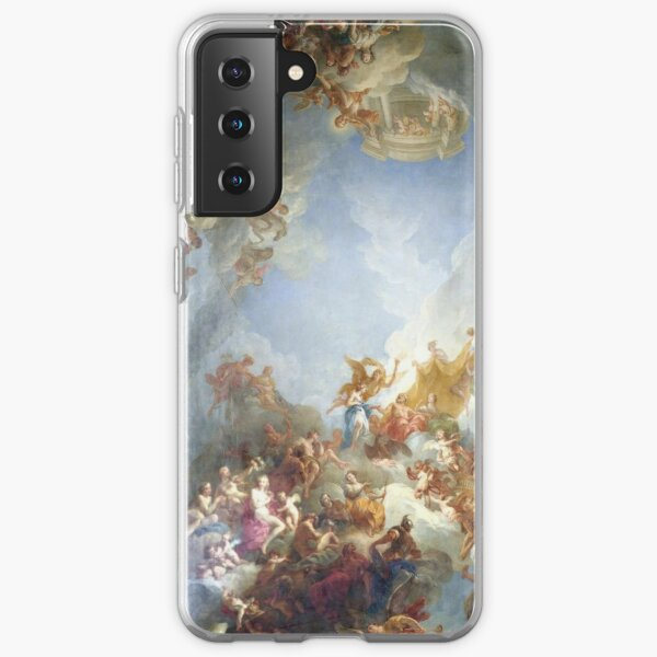 Ceiling at Versaille Renaissance Painting  Samsung Galaxy Soft Case