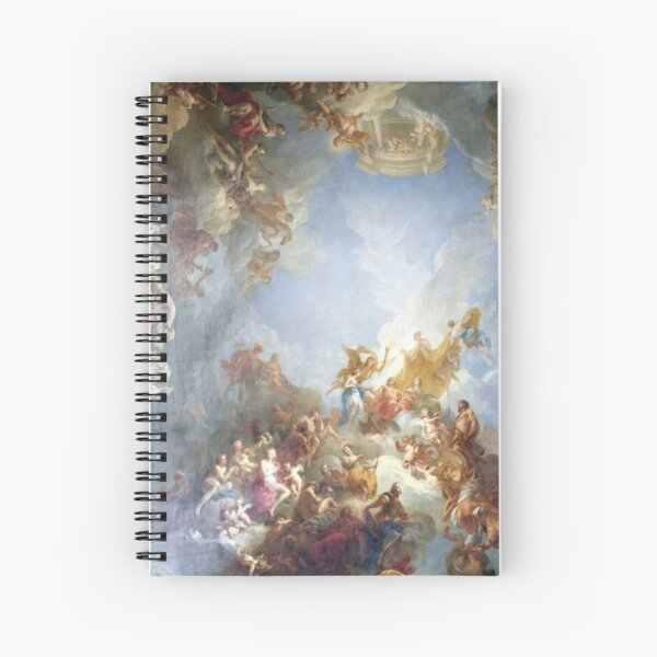 Ceiling at Versaille Renaissance Painting  Spiral Notebook