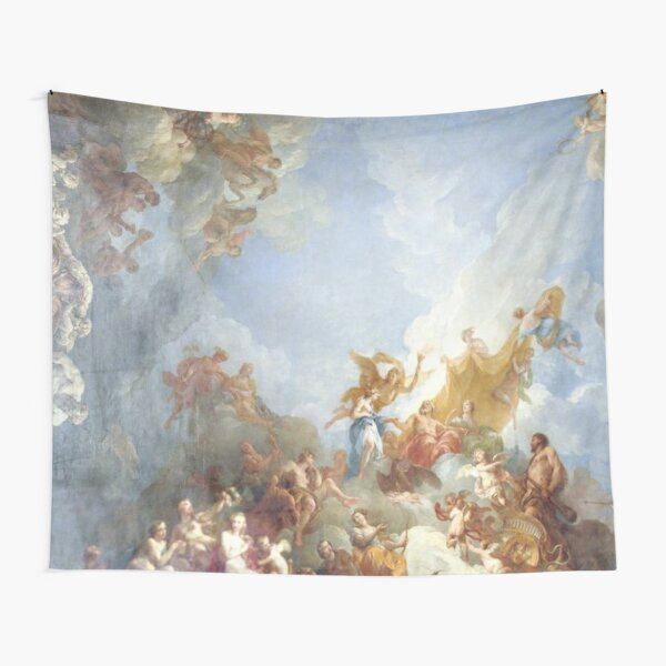 Ceiling at Versaille Renaissance Painting  Tapestry