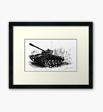 A34 Comet Tank Framed Print