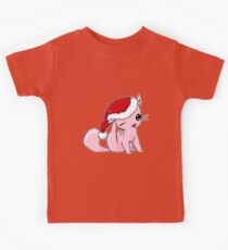 Myu the Candyfloss Cat... at Christmas! Kids Tee