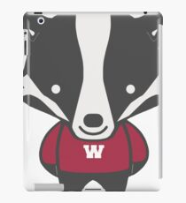 Badger Mascot Chibi Cartoon iPad Case/Skin