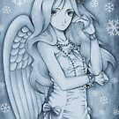 Winged Snow Lolita by MissCake