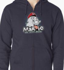 Mario : The Super Ghost Zipped Hoodie
