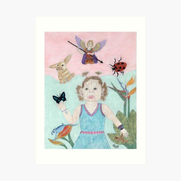 A Child's Light Art Print