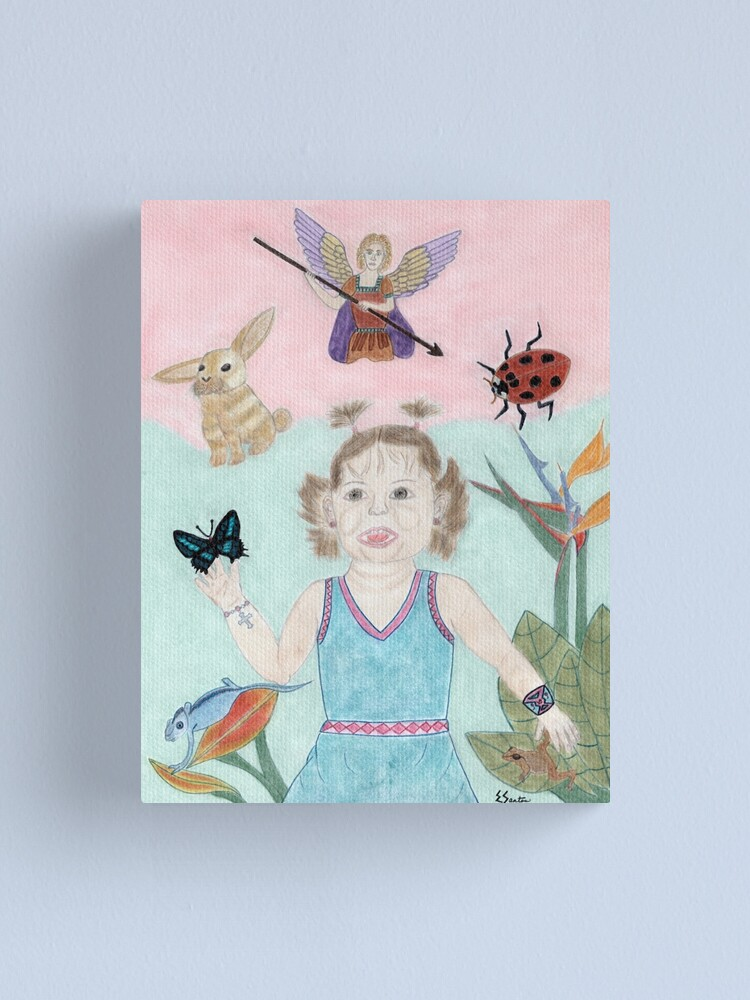 Alternate view of A Child's Light Canvas Print
