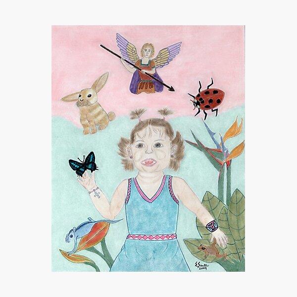 A Child's Light Photographic Print
