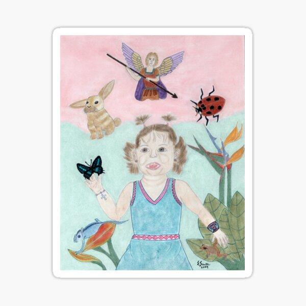 A Child's Light Sticker