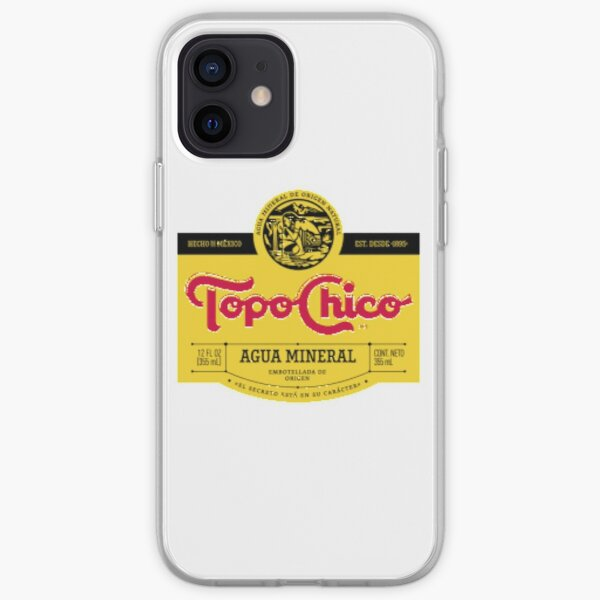 Topo Chico mexican mineral water iPhone Soft Case