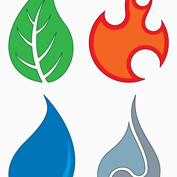 The Four Elements by seankhan